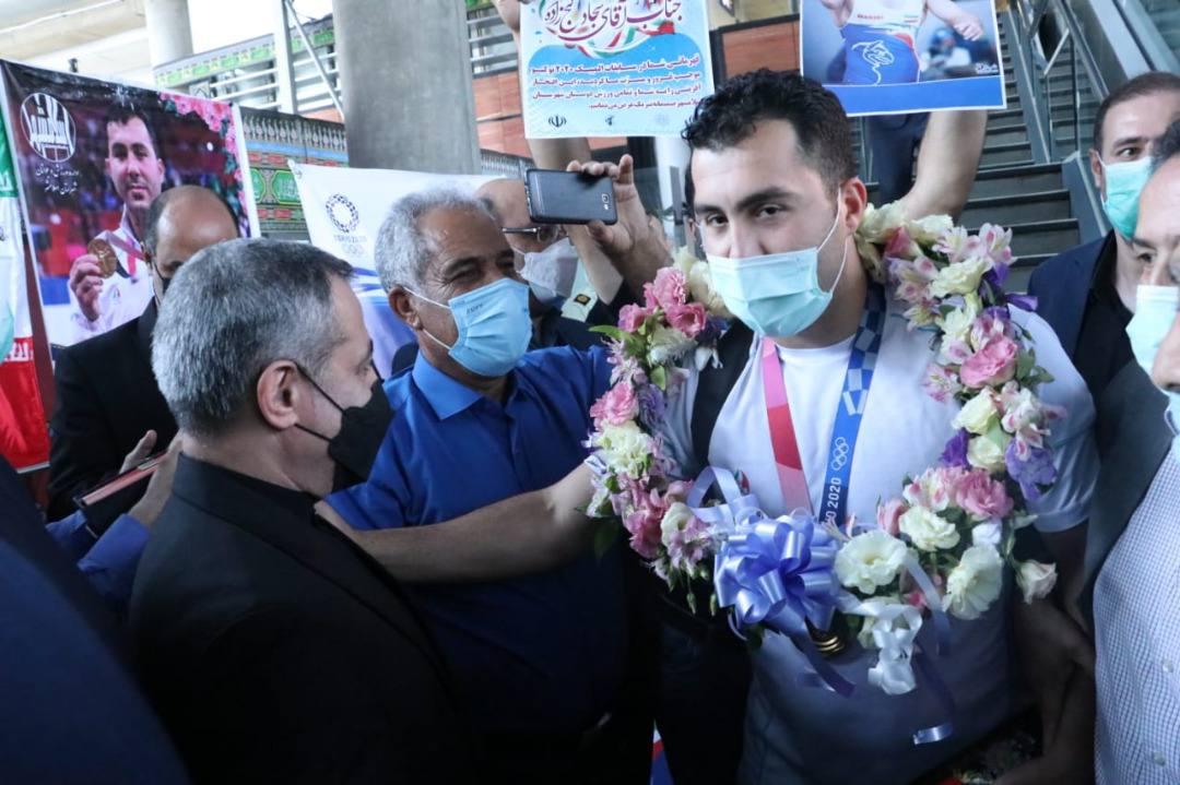 بازگشت تیم ملی کاراته پس از یک طلا در المپیک